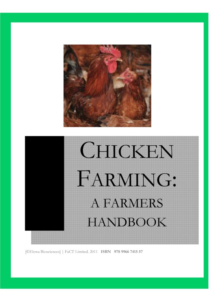 Chicken Farming Farmers book -cover