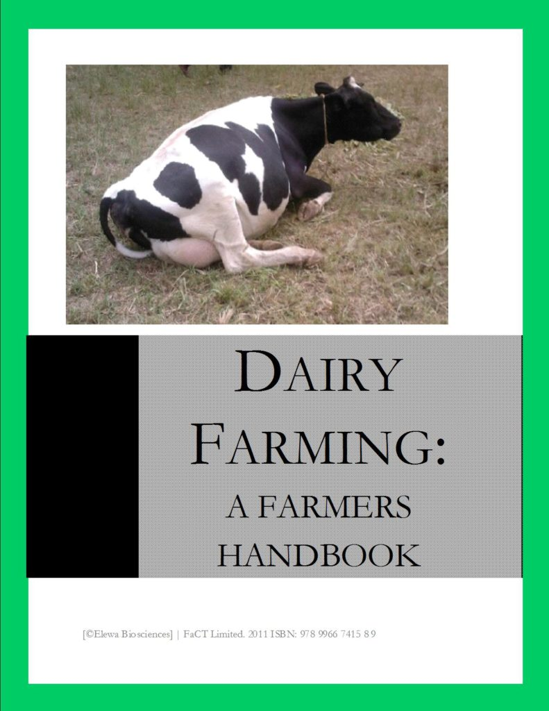 Dairy Farming Farmers book = Cover