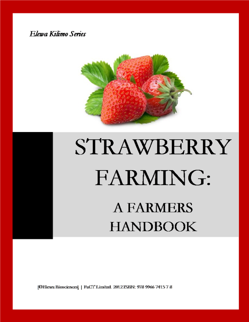 Strawberry Farming Farmers book = Cover